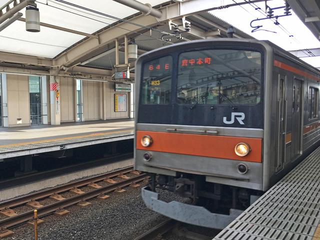 JR武蔵野線@越谷レイクタウン