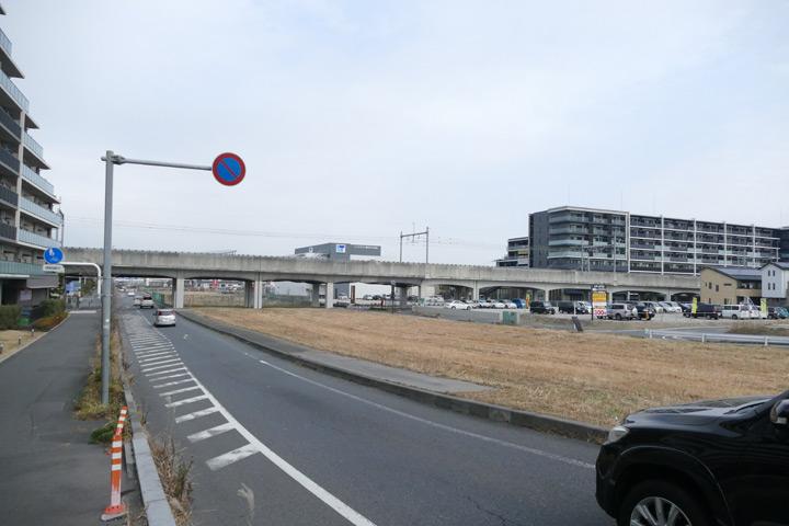 東埼玉道路とJR武蔵野線